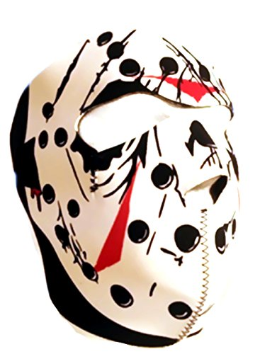 Dmoniac Schutzmaske Integral Neopren Predator Maske Hockey Jason 67140 Airsoft Paintball