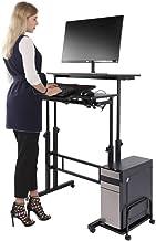 Cocoarm Stand Up Computer Desk, Height Adjustable Standing Desk Sit Stand Converter Computer Desktop Workstation, Moveable...