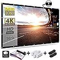 "Mdbebbron 120"" 16:9 HD Foldable Anti-Crease Projection Screen"