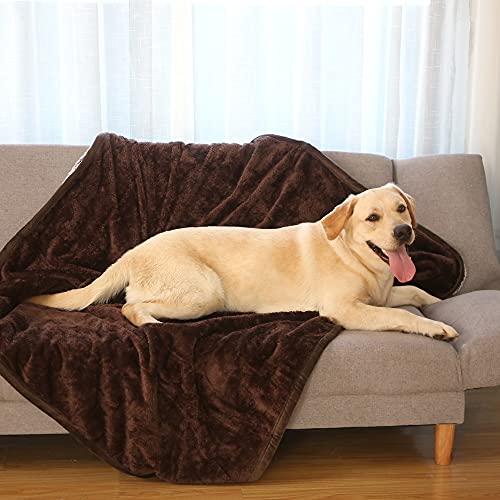 GutView wasserdichte Hundedecke Waschbar für Couch Sofa Auto Outdoor, Weich und Warm, Hundedecke und Katzendecke, Hundedecken für große und kleine Hunde Katzen