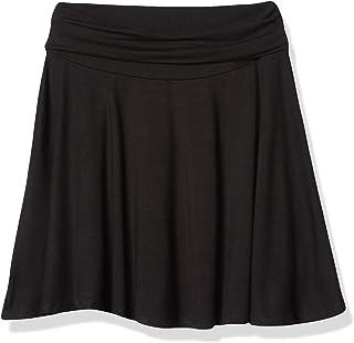 دامن اسکیت باز بافت بزرگ دخترانه Emy Byer با سایز 7-16 با دور کمر