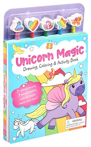 Unicorn Magic Pencil Toppers: Drawing, Coloring & Activity Book