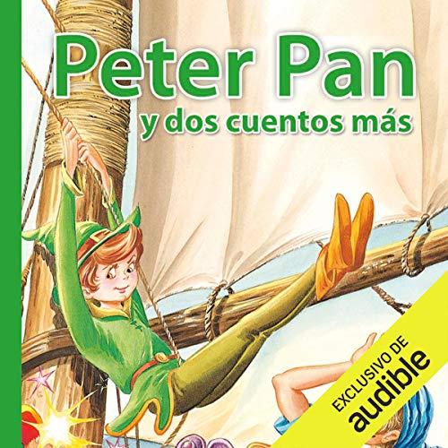 Diseño de la portada del título Peter Pan y dos cuentos más