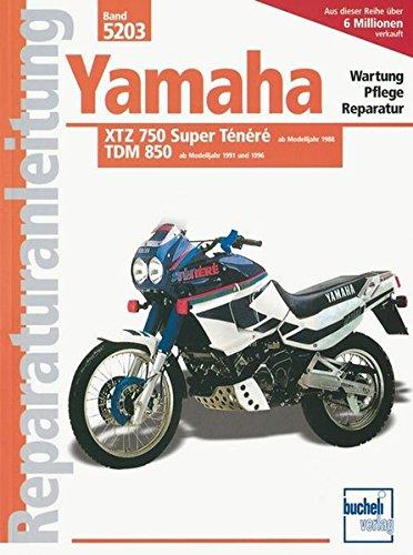 Yamaha XTZ 750 Super Ténéré / TDM 850 (Reparaturanleitungen)