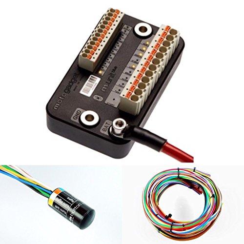 Motogadget MG4002040 – m-Unit Blue Digital Control Unit Builders Pack mit M-Taste und Kabel-Kit