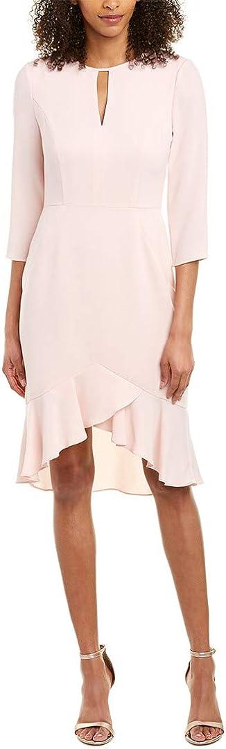 Shoshanna Women's Arnett Three-Quarter Sleeve Sheath Dress