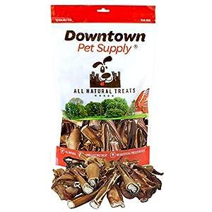 Downtown Pet Supply Range Bully Sticks, Great Training Dog Treats – Low Odor, (Bully Bites, 1 lb)