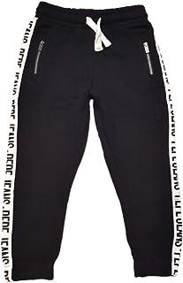 Pepe Jeans- PANTALÓN Simon PB210581-999 Black- PANTALÓN Jogger para NIÑO