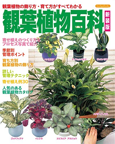観葉植物百科 新装版 (Boutique books)