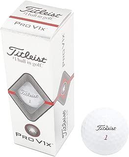 タイトリスト(タイトリスト) PRO V1X 19 ゴルフボール 3球入り ローナンバー T2046S-3PJ