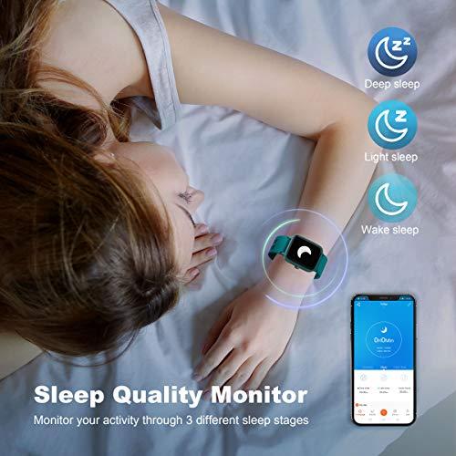 Arbily Montre Connectée Smartwatch pour Femmes Hommes Tracker d' Activité Bracelet Connecté IP68...