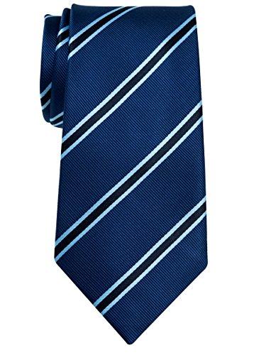Corbata con diseño a rayas, tejido de microfibra de 8cm de ancho, varios colores, de la marca Retreez