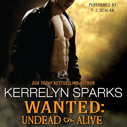 Wanted: Undead or Alive audiobook cover art