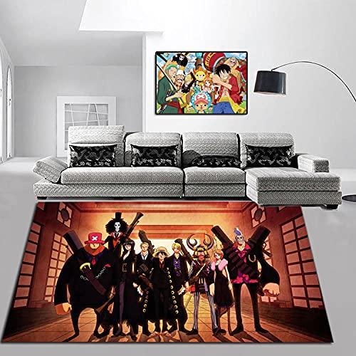 Sala de Estar Pasillo baño Dormitorio sofá cojín Lindo Piso de Dibujos Animados Alfombra Alfombra-A_80X120CM