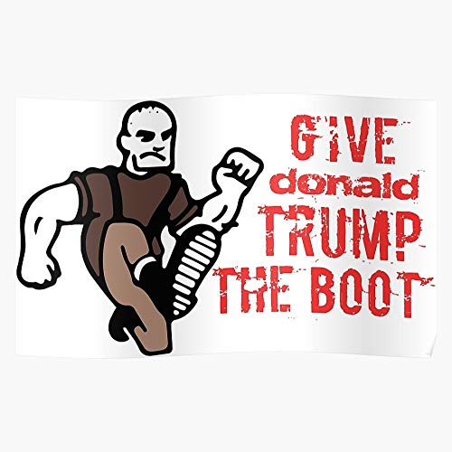 Magpiegoose Trump Defeat Home Decor Wall Art Print Poster !