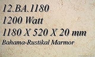 Calefacción por infrarrojos eléctrico (mármol calefactora plano Radiador Magma 12. BA.1180