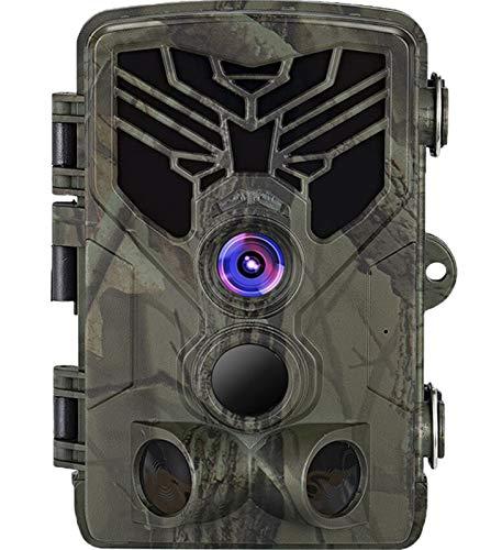 KTYX Trail Camera WiFi App Control Bluetooth Show Live Wild Trail Cámara Detección de Movimiento Camara Caza WiFi 20mp 1080p Visión Nocturna Vida Silvestre Fácil de Configurar Trampas Fotográficas