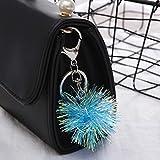 SUNSK Mode LumineuxPorte-clés Sac à Main Sac à Dos Pendentif décoration Accessoires Femmes Filles Voiture Porte-clés Cadeaux