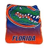 Logo Brands NCAA Florida Gators Raschel Throw, One Size, Team Color