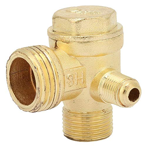 2pzs 6MM Valvula de retencion de petroleo combustible de aire 1//4 pulgada de una via no retorno Gas diesel Valvula de retencion de petroleo combustible de aire R SODIAL