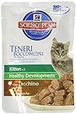 HSP Feline Kitten Pavo Pouch Caja 12X85GR
