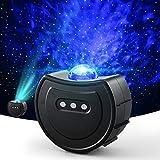 Proyector Estrellas, OCDAY Proyector de luz de estrellas con estrellas y lunas, olas del océano para regalos, niños,...