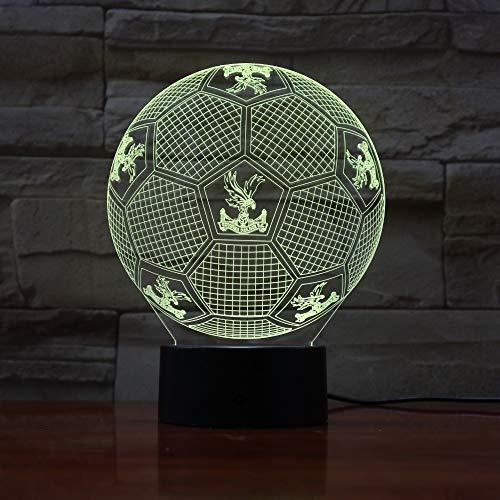 Farbverlauf Atmosphäre Lampe Nachtlicht Tisch Nachttischlampe Erde Lampe Kristall Palast