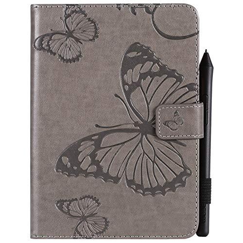 Haiqing Funda para tablet Kindle Paperwhite 4 (10ª generación-2018), 6 pulgadas (color: gris)