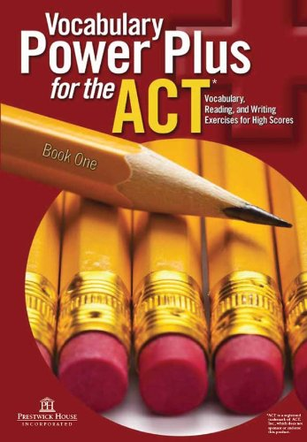 Download Vocabulary Power Plus for the ACT - Book One (English Edition) B008UHEEMA