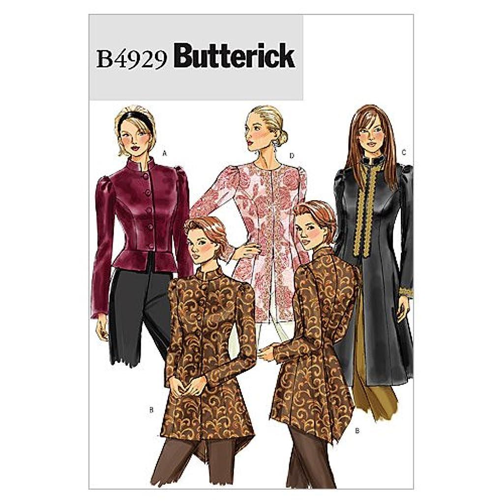 BUTTERICK PATTERNS B4929 Misses' Jacket, Size BB (8-10-12-14)