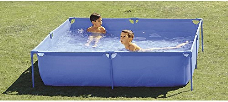 marca Piscinas Toi 3169 Piscina Infantil Cuadrada, Azul, 190x190x45 cm cm cm  venta caliente