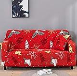 ASCV Fundas de sofá Protectoras de sofá de Pieles de sofá para Sala de Estar Funda elástica elástica Fundas de sofá de Esquina seccionales A1 1 Plaza