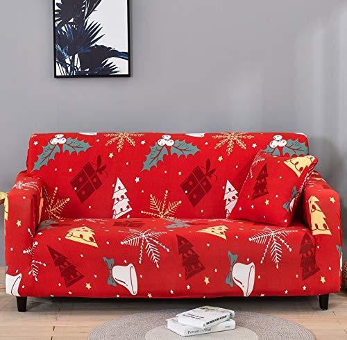 ASCV Fundas Protectoras de sofá geométricas Sala de Estar Funda elástica elástica Fundas de sofá seccionales de Esquina A1 4 plazas