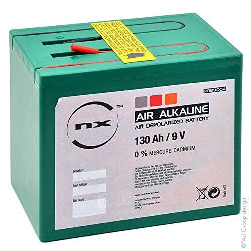 NX - Batterie Luftsauerstoff Alkaline 9V 150Ah