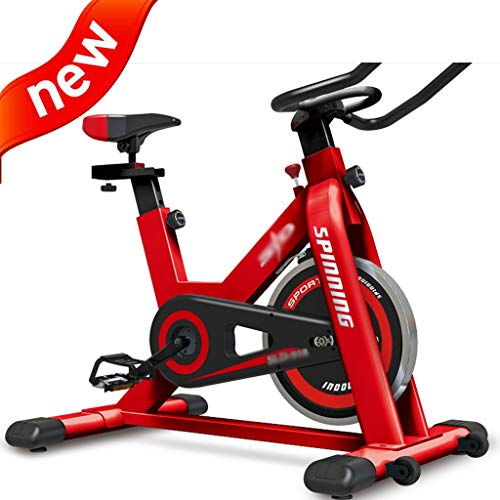 Find Bargain DXIUMZHP Exercise Bikes Fitness Bike Indoor Folding Spinning Silent Exercise Bike Indoo...