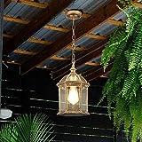 GRELEE Lámparas de araña de la Vendimia al Aire...