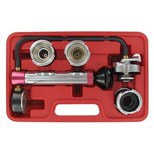 OEMTOOLS 27065 Cap Kit | Tests Drukdoppen & Koelmiddel Lekken Radiator Reparatie Tool | Werkt met de meeste voorkomende maten koelmiddel systemen | Gemakkelijk te gebruiken