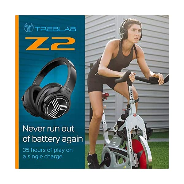 Over Ear Wireless Headphones - HyperHD Sound Bluetooth Stereo for Sports Gym Workout Travel 5