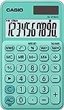 Casio SL-310UC-GN Calcolatrice Tascabile, Verde Pastello...
