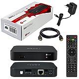 MAG 322 Original Infomir / HB-DIGITAL IPTV SET TOP BOX Multimedia Player Internet TV IP Receiver (HEVC H.256) Nachfolger von MAG 254 + WLAN WiFi USB Stick von HB-Digital mit Antenne + HDMI Kabel -