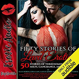Fifty Stories of Lewd Erotica cover art