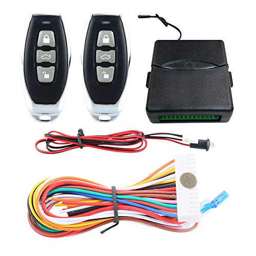 EASYGUARD KE01-RT0029 Universal Keyless Entry System for Cars with Central Door Lock Locking Remote Trunk Release DC12V