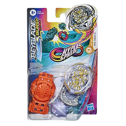 BEYBLADE Burst Rise Hypersphere Royal Genesis G5 Starter Pack -- Stamina Type Battling Top Toy and Right/Left-Spin Launcher, Ages 8 and Up