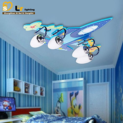 Ancernow intelligente creativo semplice LED plafoniere a basso consumo per camera da letto, soggiorno, nursery, bagno, sala, Sala da pranzo