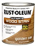 Rust-Oleum 260143 Ultimate Wood Stain, Quart, Golden Oak