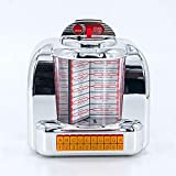 1950s Retro Styled Stereo Speaker, Vintage American Dinner Jukebox