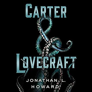 Carter & Lovecraft audiobook cover art