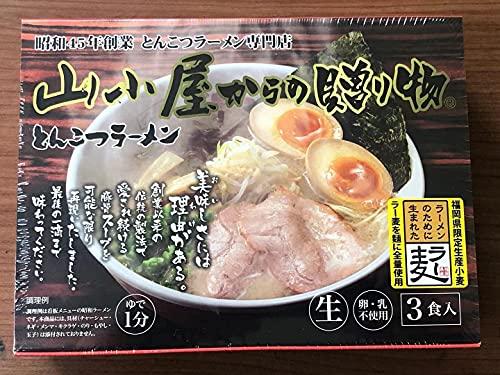 山小屋からの贈り物とんこつラーメン3食×4箱セット 九州 筑豊 スープ 麺 通販 お土産 常温