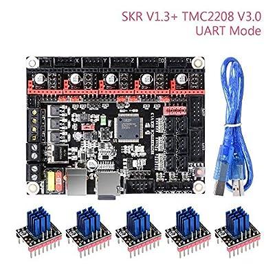 BIGTREETECH SKR V1.3 32 Bit ARM CPU Control Board with 5pcs TMC2208 V3.0 UART Mode Stepper Motor Driver for DIY 3D Printer