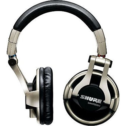 Cheapest Prices! Shure SRH750DJ Professional Quality DJ Headphones (Gold) (Renewed)